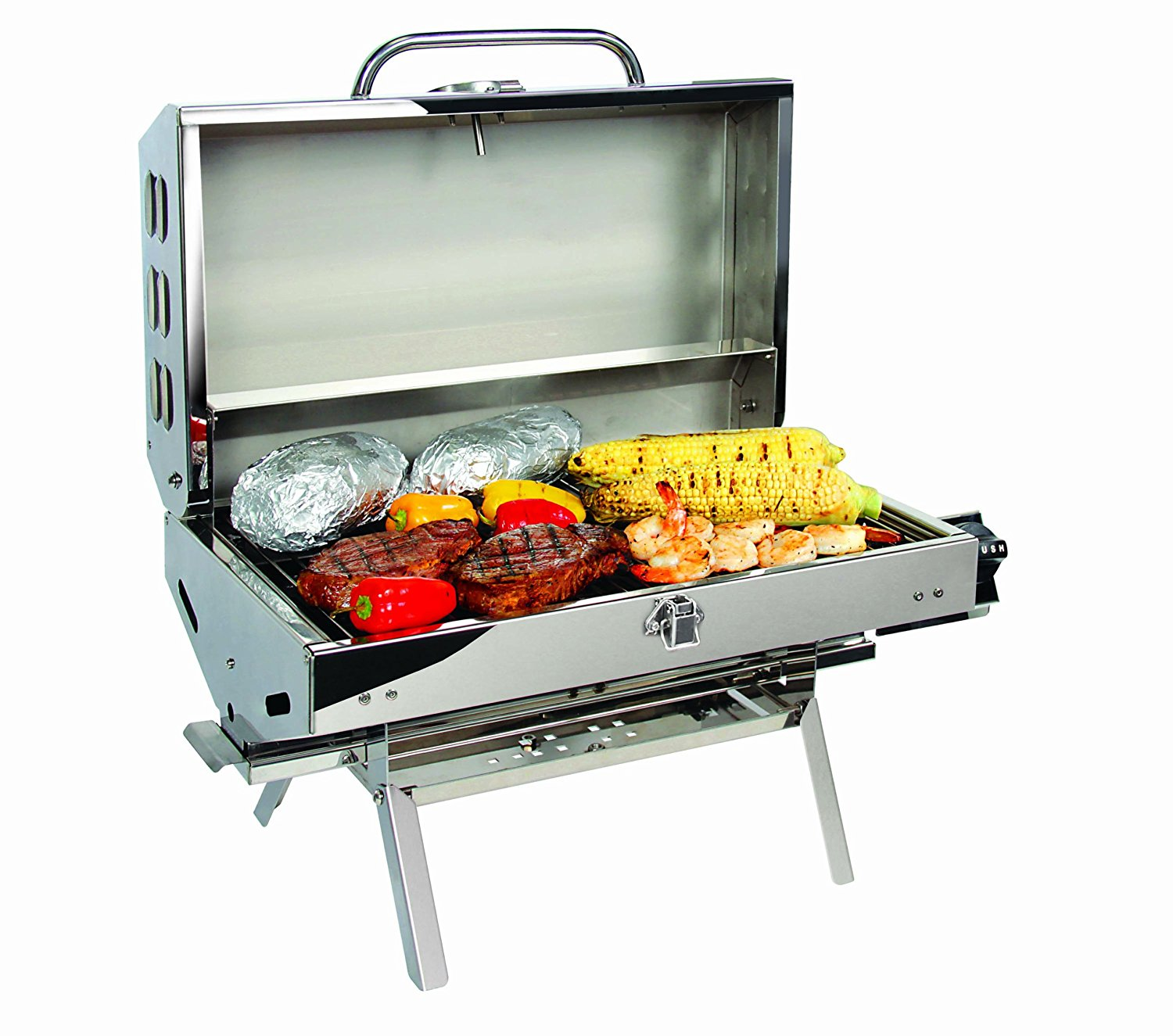 Camco 57305 Olympian 5500 Stainless Steel Grill Review
