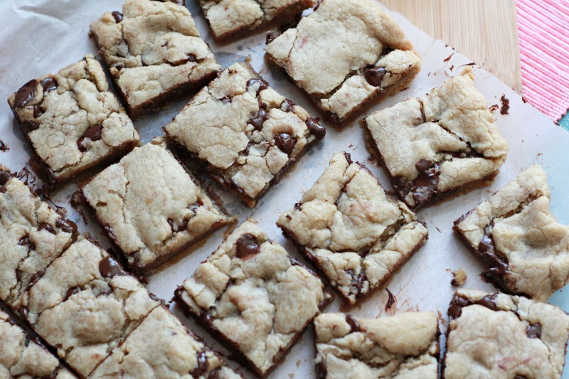 Browned Butter Cookie Bars