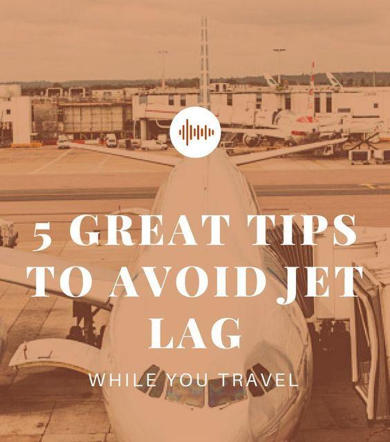 Useful tips how to minimize jet lag symptoms