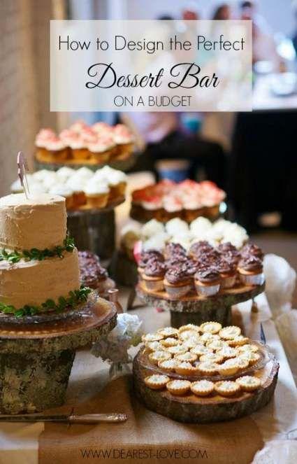 23 diy Wedding desserts ideas