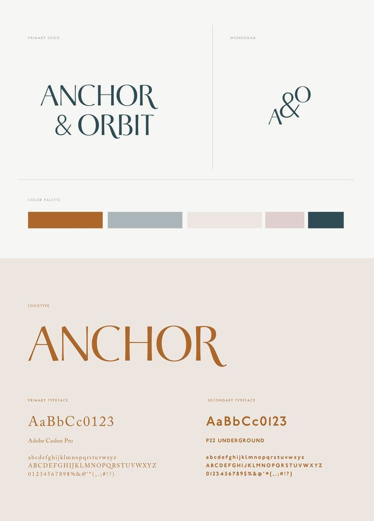 22 style Guides type ideas