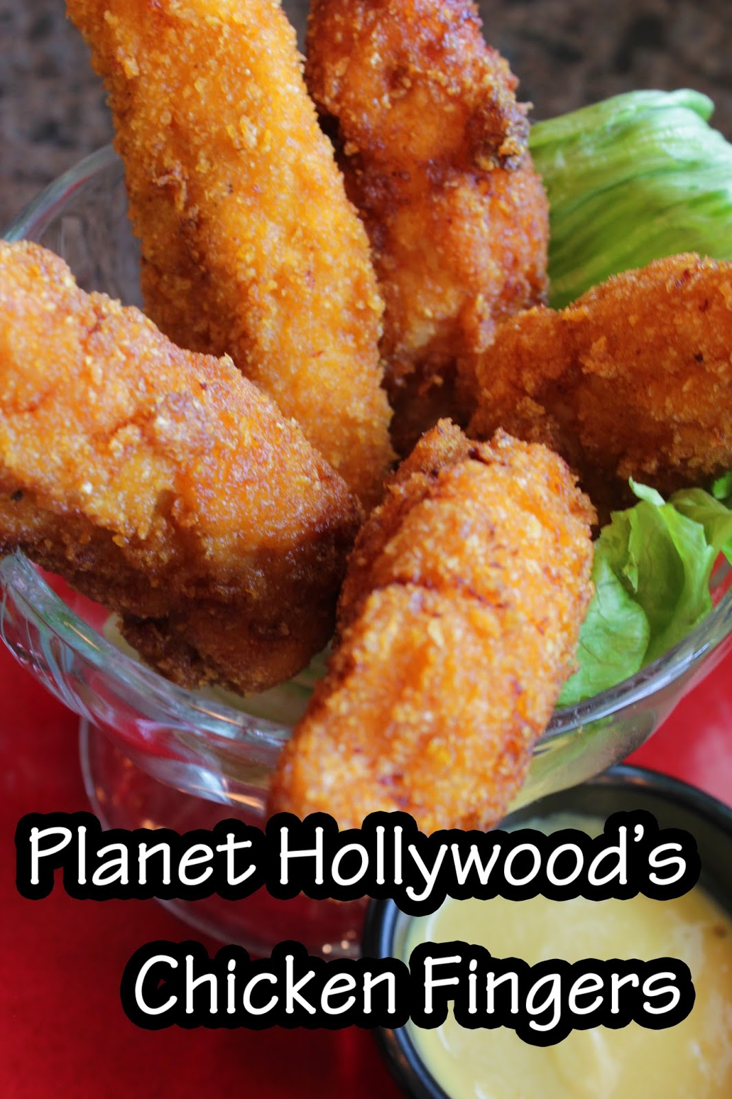Chicken Fingers Recipe from Planet Hollywood (Downtown Disney)