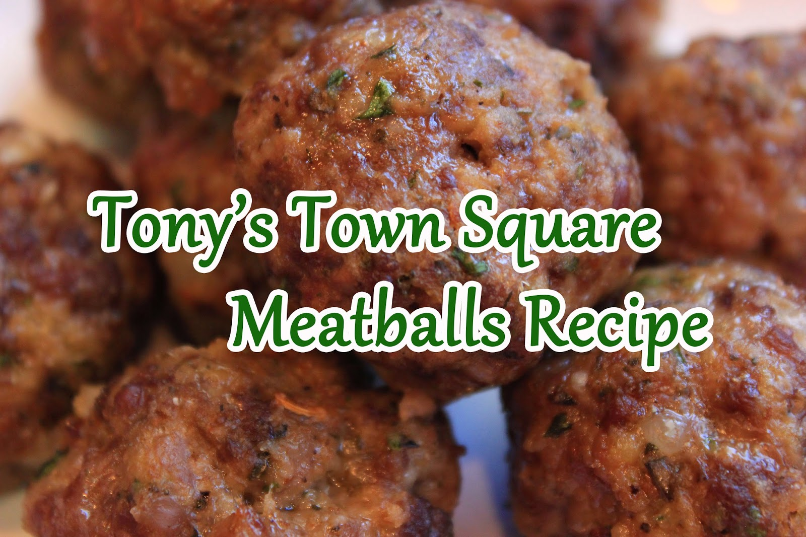 Italian Meatballs Recipe from Tony's Town Square (Magic Kingdom)