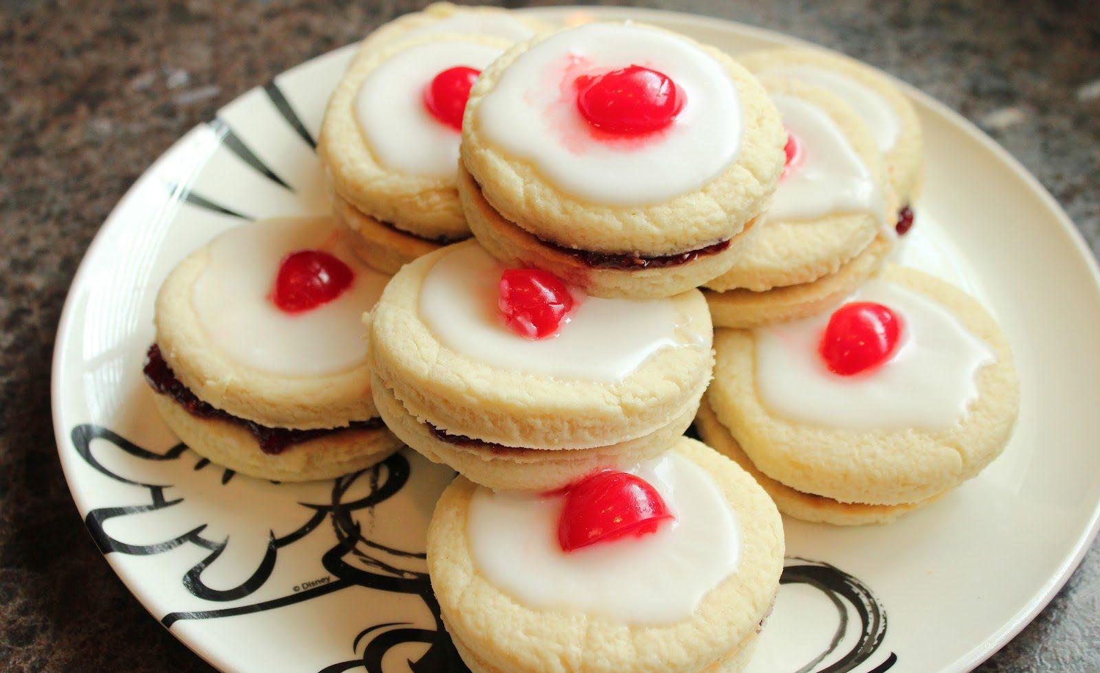 "Empire Biscuits (Disney's ""Brave"" Cookies) Recipe"