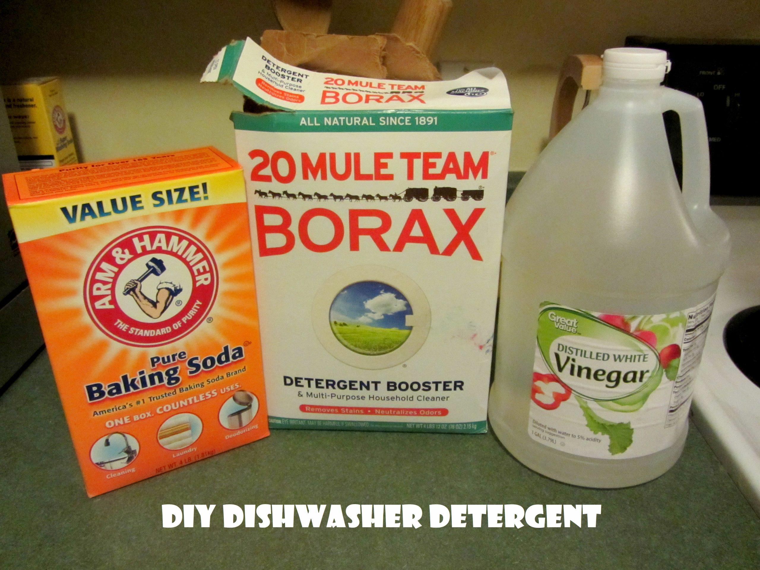 DIY Dishwasher Detergent Super Cheap