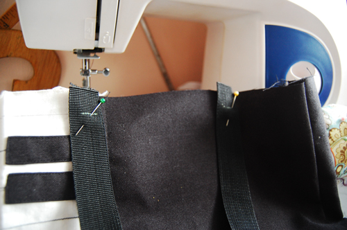 How to make a piano shoulder bag