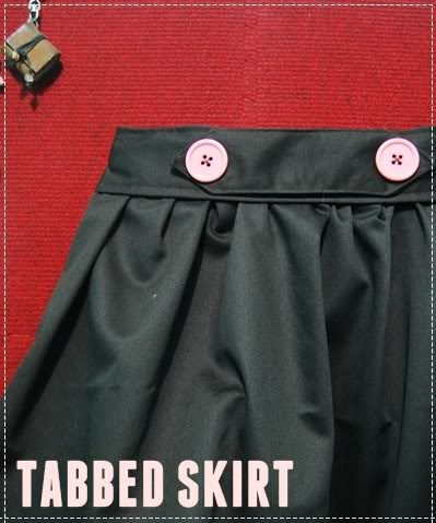 HOW TO SEW A HIGH-WAIST TABBED SKIRT