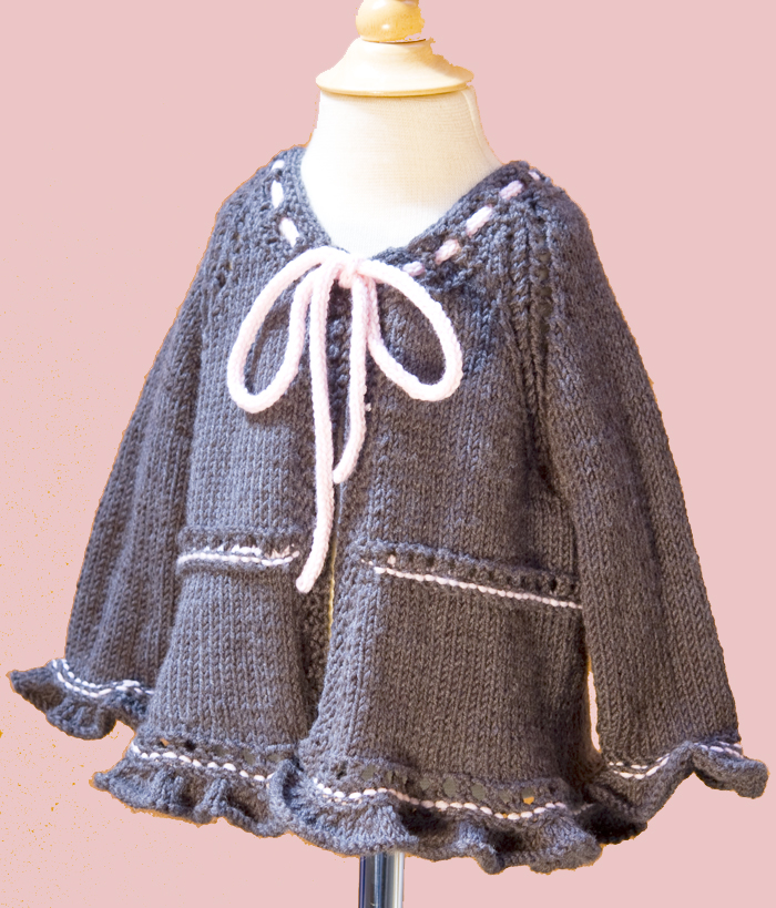 FREE PATTERN: Baby Coco Sweater