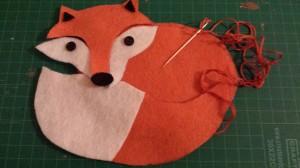 Felt craft – Fox