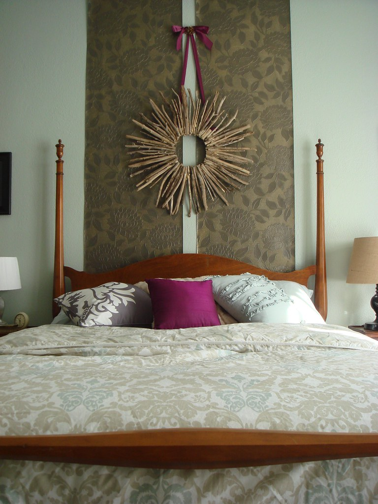 ONE GORGEOUS AND GLAMOROUS MASTER BEDROOM- ON SET OF THE LAMP