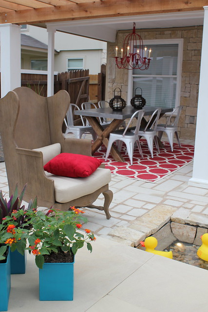 New backyard design with HGTV