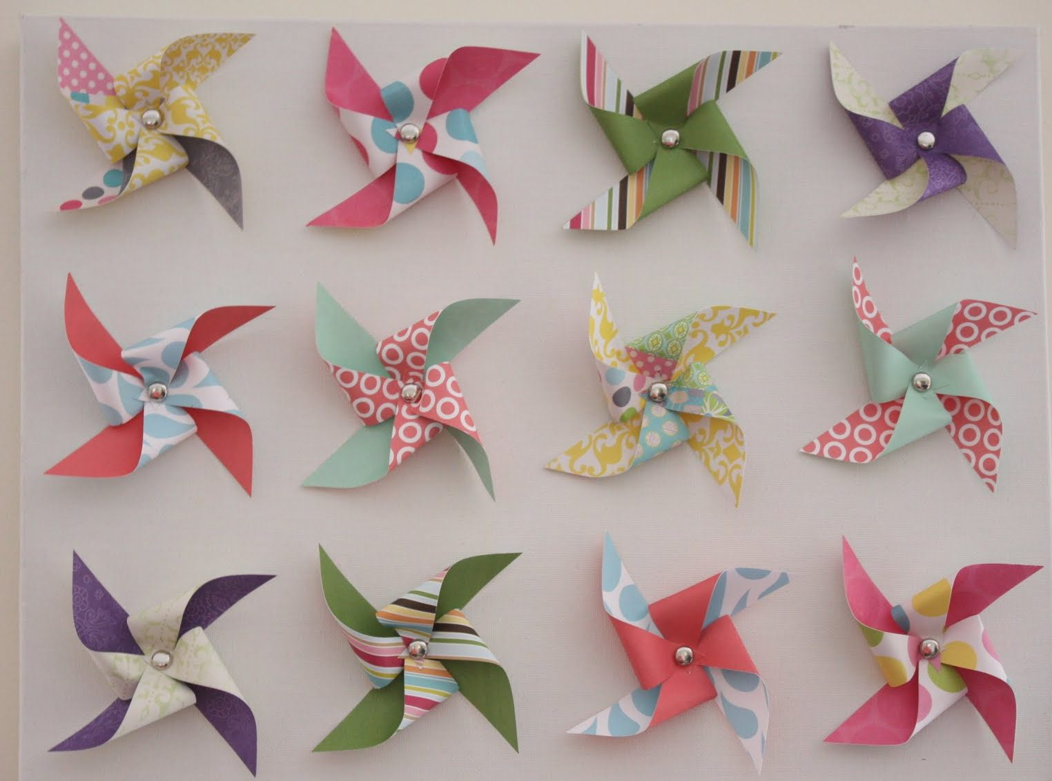 DIY – Pinwheel Canvas