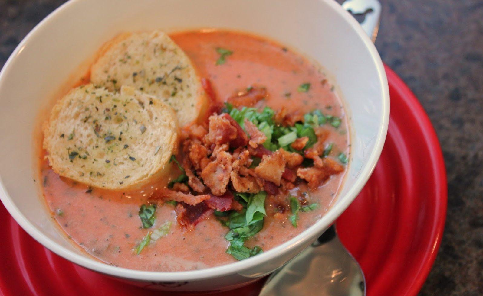 Sci-Fi Dine-In Theater's BLT Soup Recipe