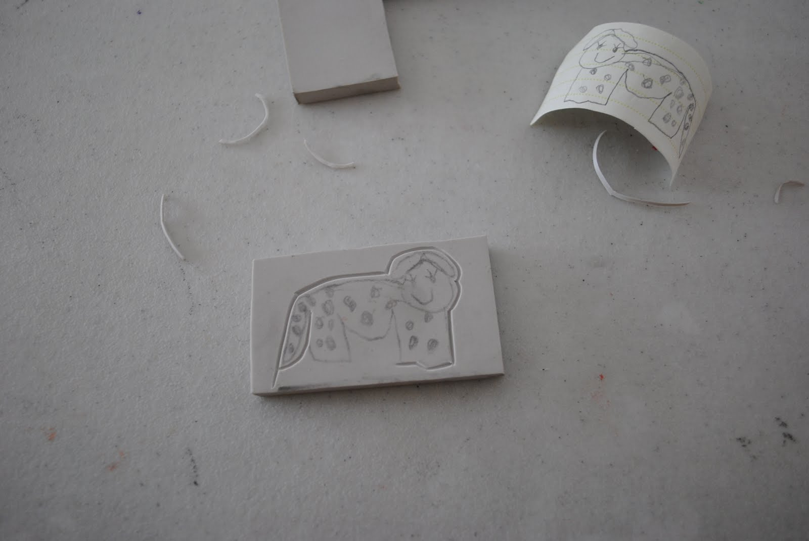 stay cozy and hand carved stamps tutorial
