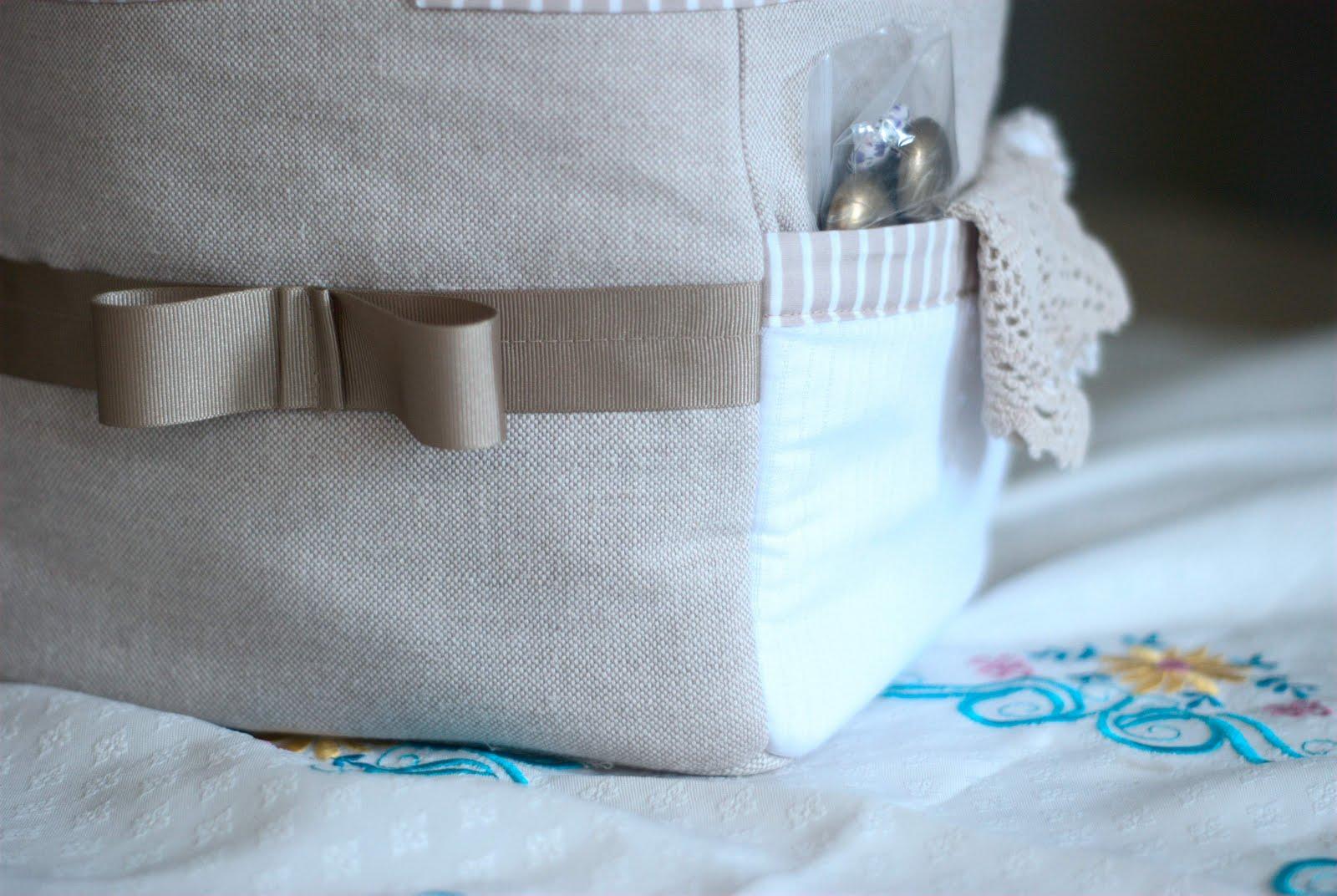 a little fabric box