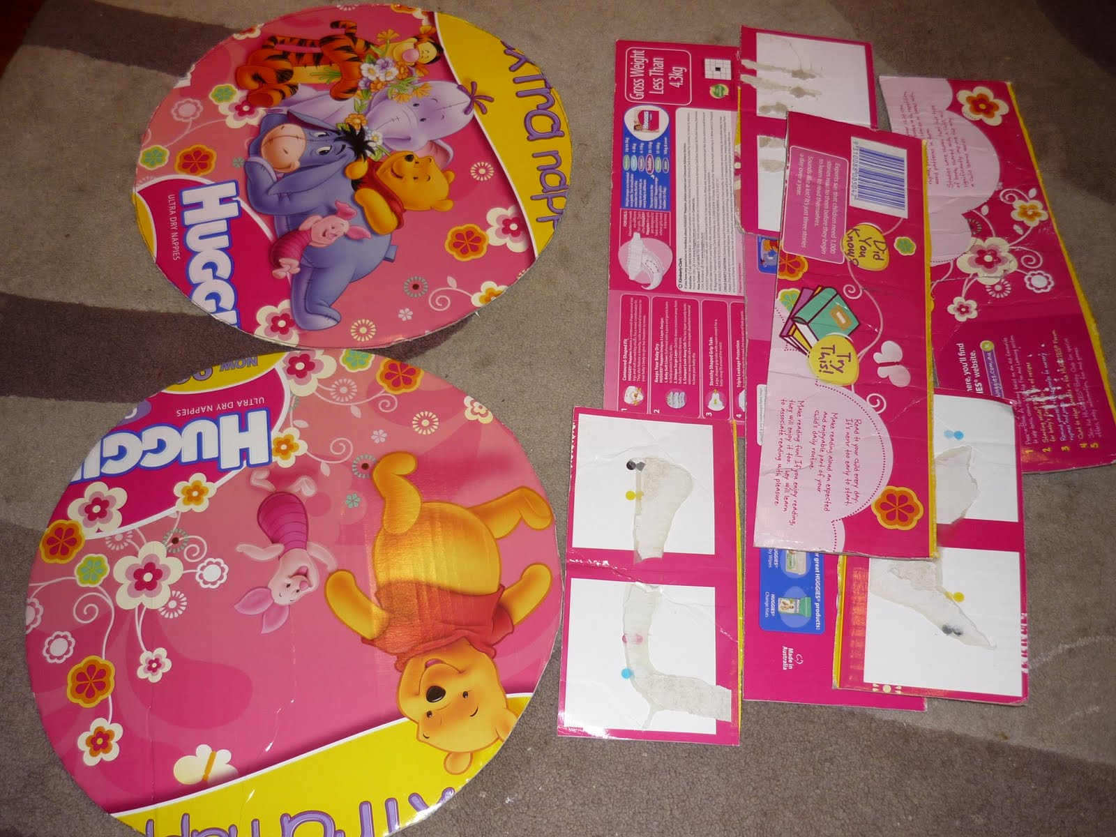 Make Your Own Party Pinata From A Nappy Box – DIY