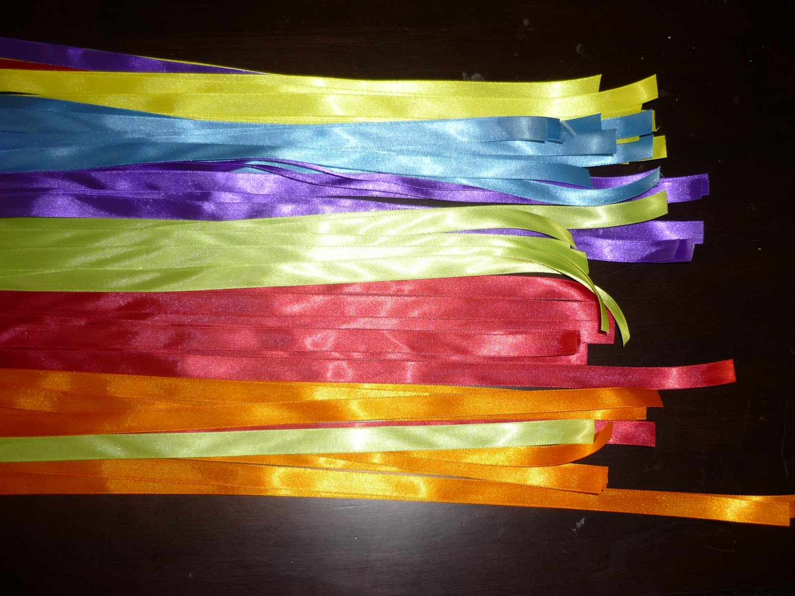 Ribbon Sticks for RAINBOW PARTY