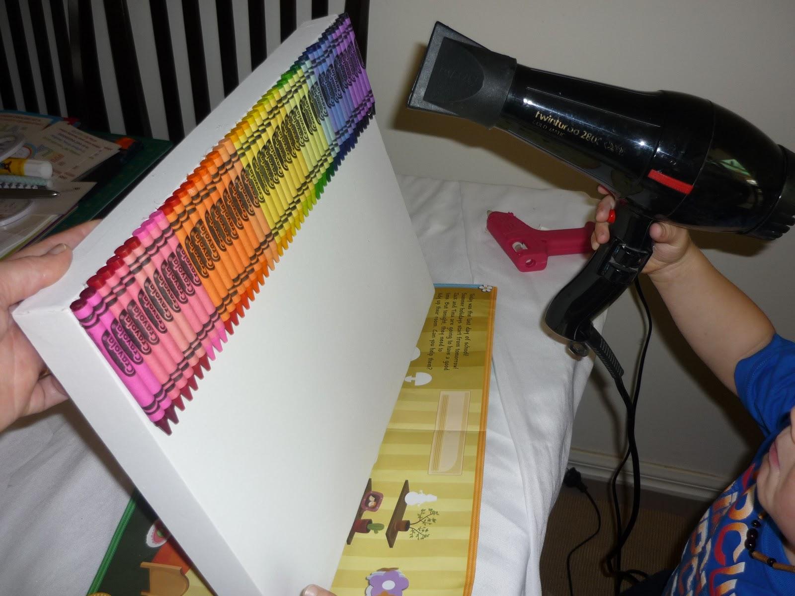 Crayon Canvas – Rainbow Party