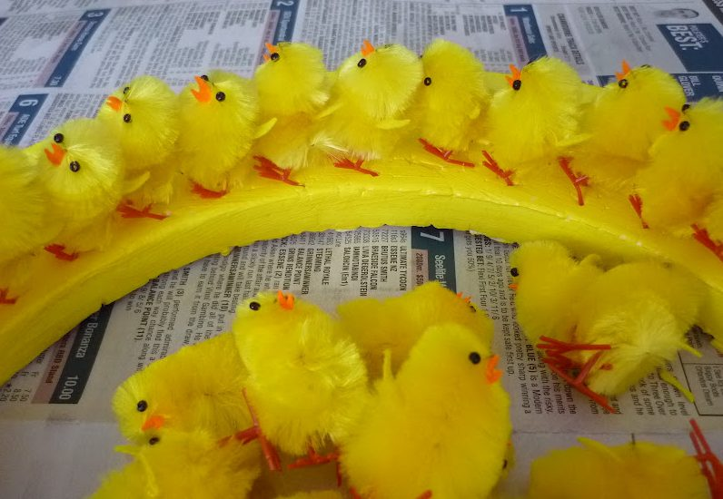 Baby Chick Wreath