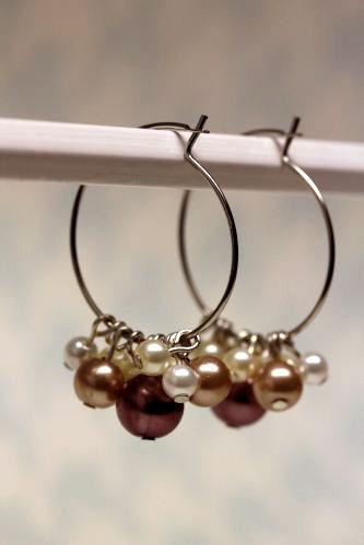 Make Beaded Hoop Earrings