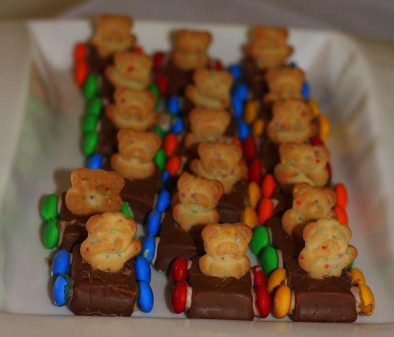 Tiny Teddy Cars – Rainbow Party