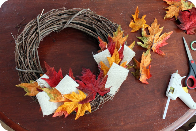 Tutorial: fall wreath