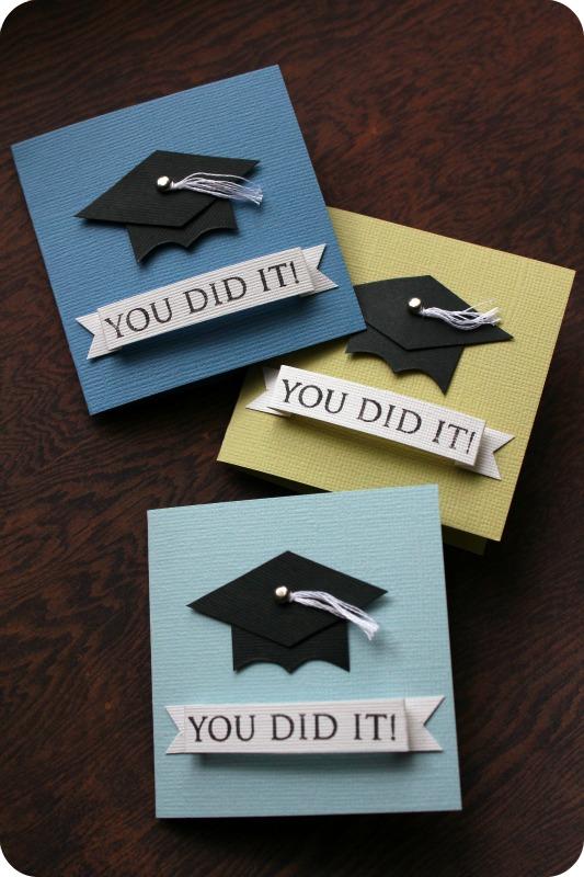 Tutorial: mini grad cards
