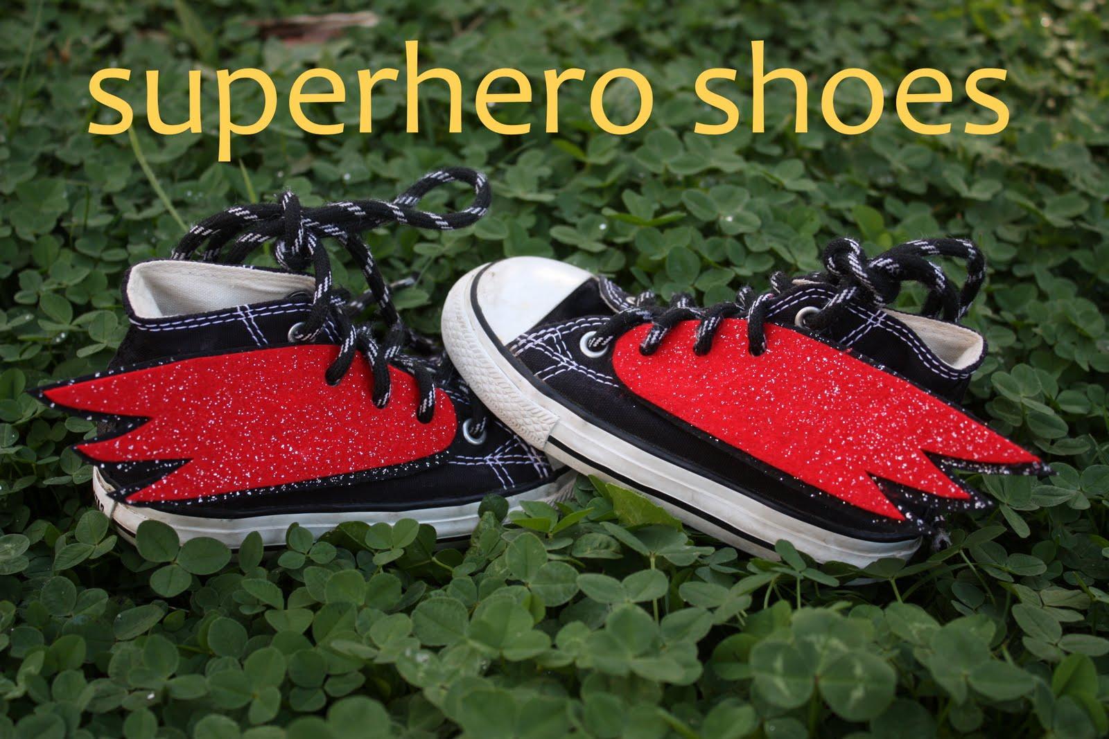 Superhero Shoes – DIY