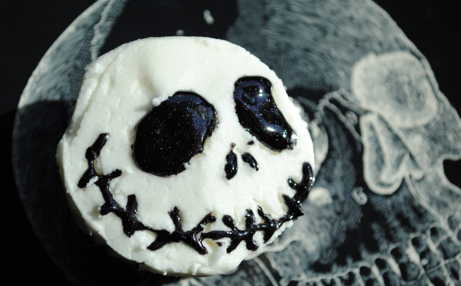 Disney Halloween Cupcakes: Jack Skellington Recipe