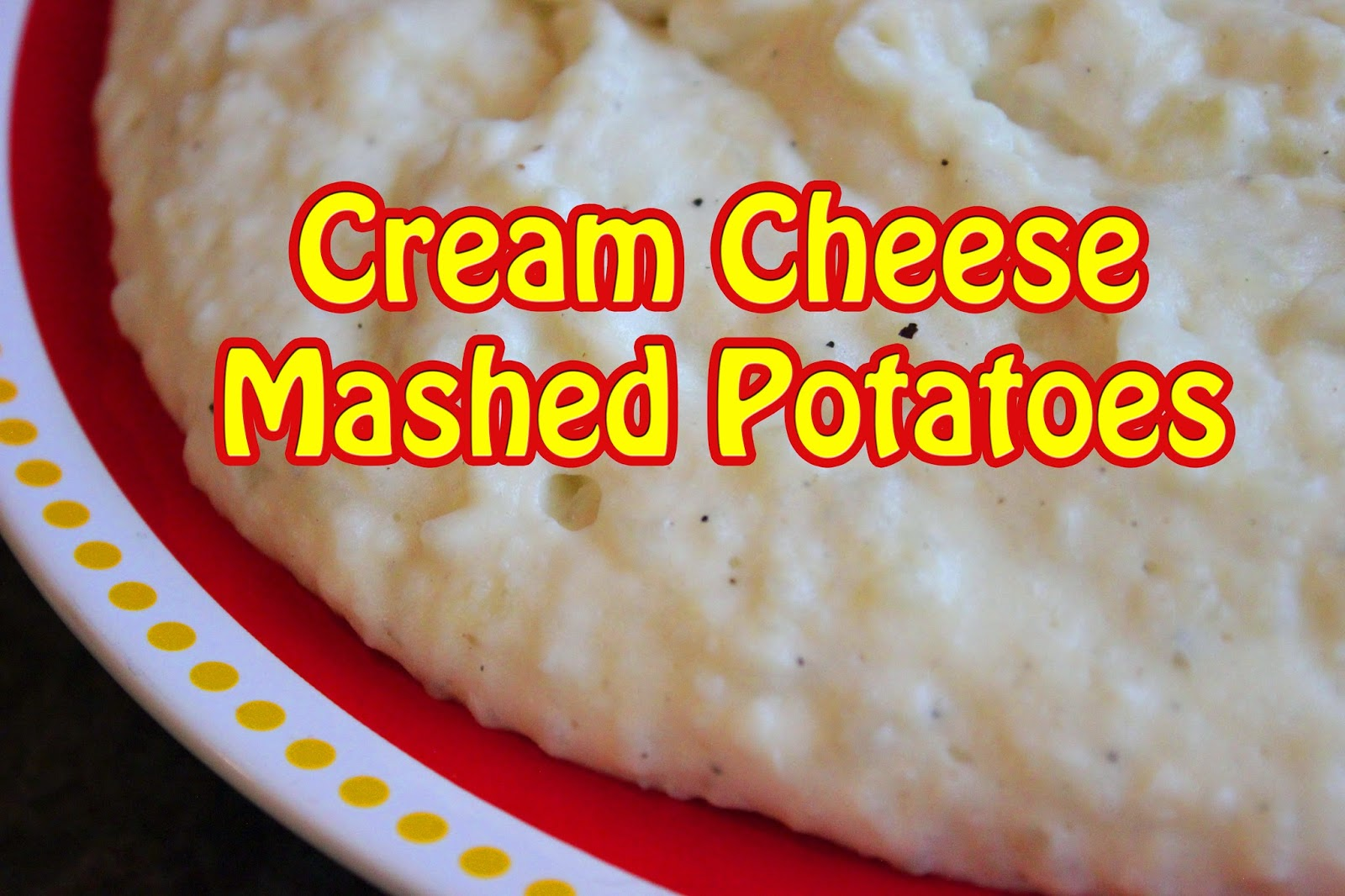 Le Cellier: Cream Cheese Mashed Potatoes Recipe