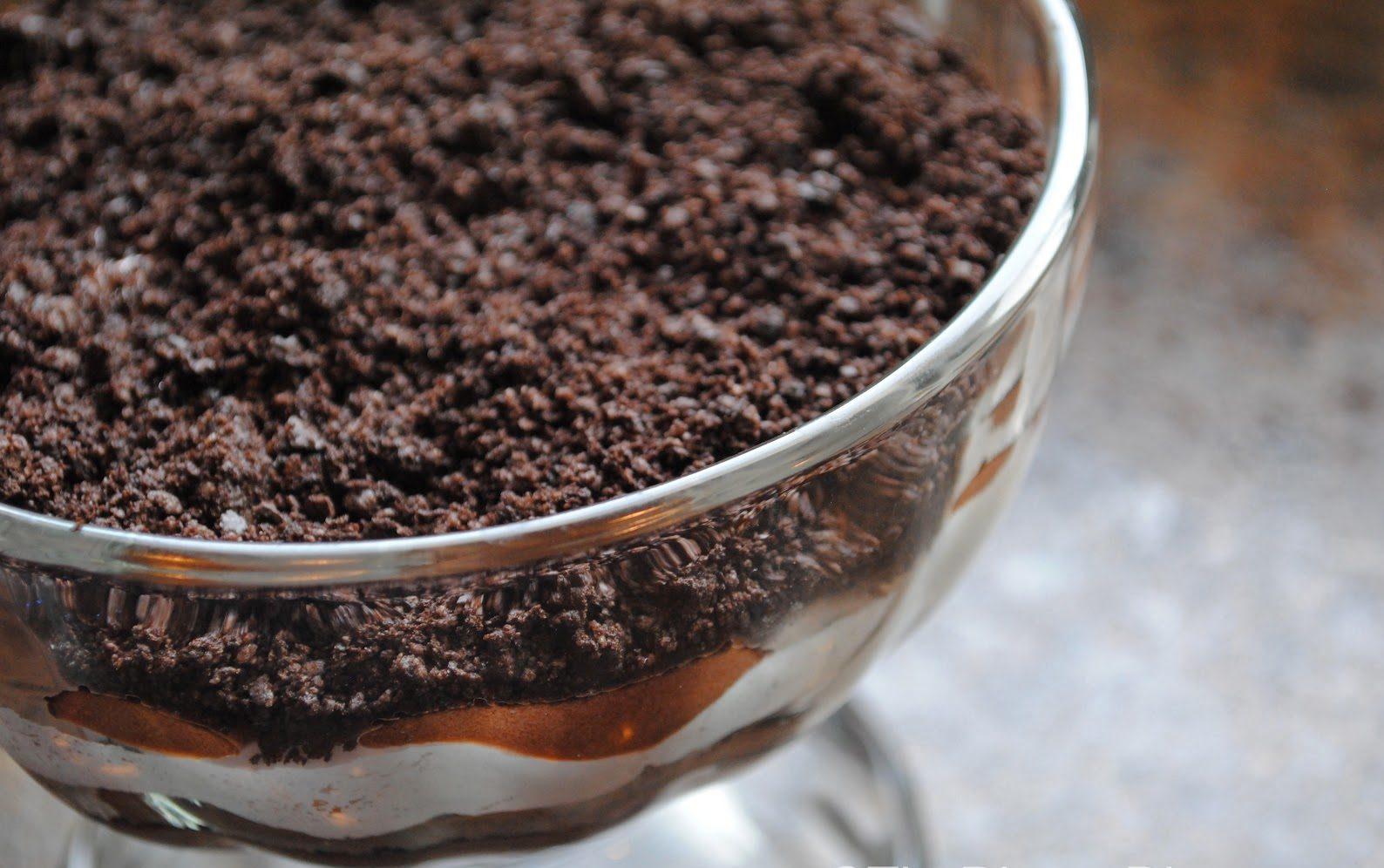 Oreo Chocolate Pudding Parfait Recipe