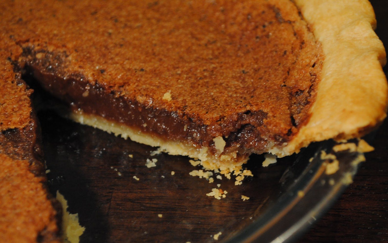 Chocoholic's Chocolate Pie Recipe