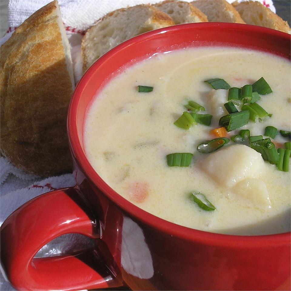 Chef Mickey's: Ham, Potato & Scallion Soup Recipe