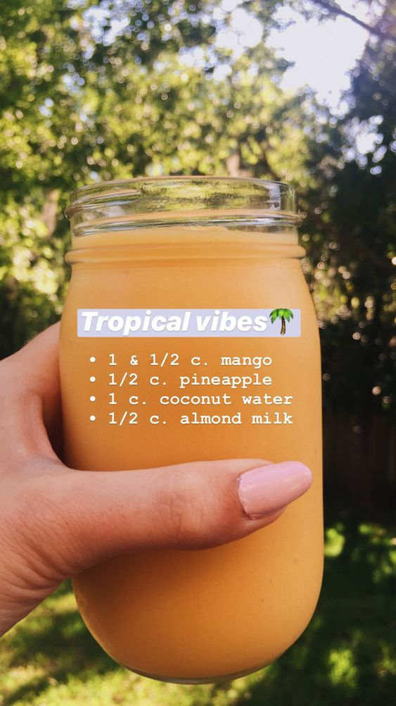 Need some quick and easy but healthy ideas for  Delicious smoothies? Try this Healthy Smoothie recipe from Instagram. -   Awesome Healthy Smoothie recipes from instagram