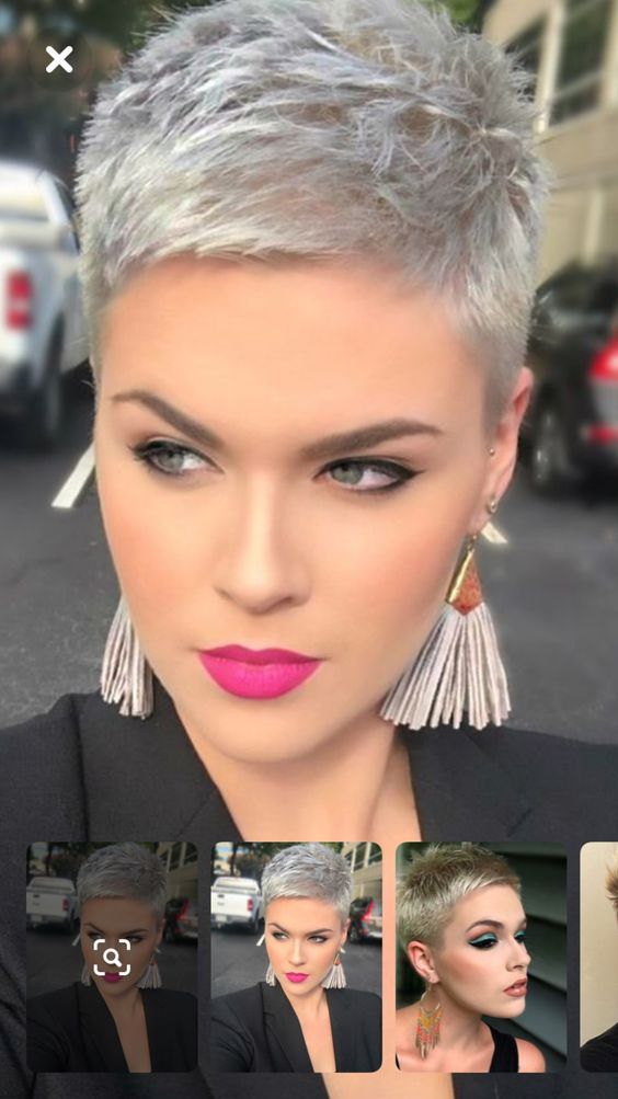 Ultra-Cool Pixie Cuts for Thick Hair -   50 Excellent Summer Hairstyles And Haircuts Ideas For Women To Try