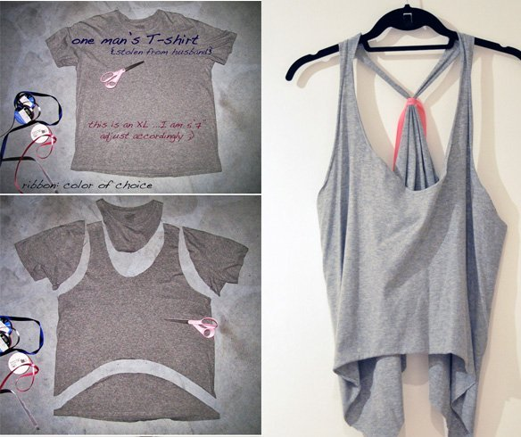 DIY T-Shirt Cutting Designs