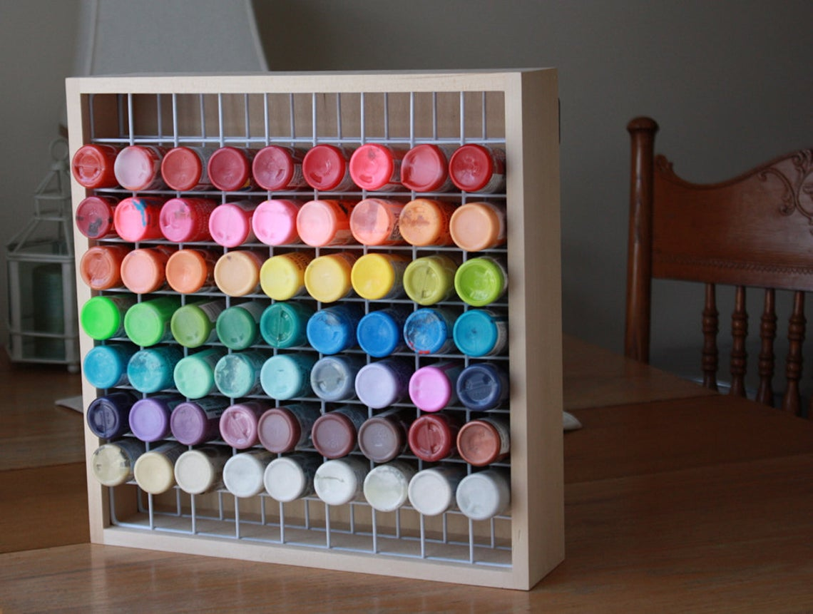Craft Paint Storage Rack,High Quality Paint Organizer,Paint Storage,Paint Rack,Craft Storage,Paint Bottle Rack,Paint Storage,Storage