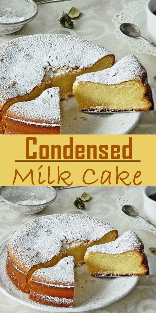 Easy Condensed Milk Cake