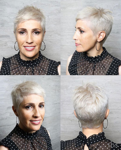 50 Stylish hairstyles for older women with fine thin hair over 50