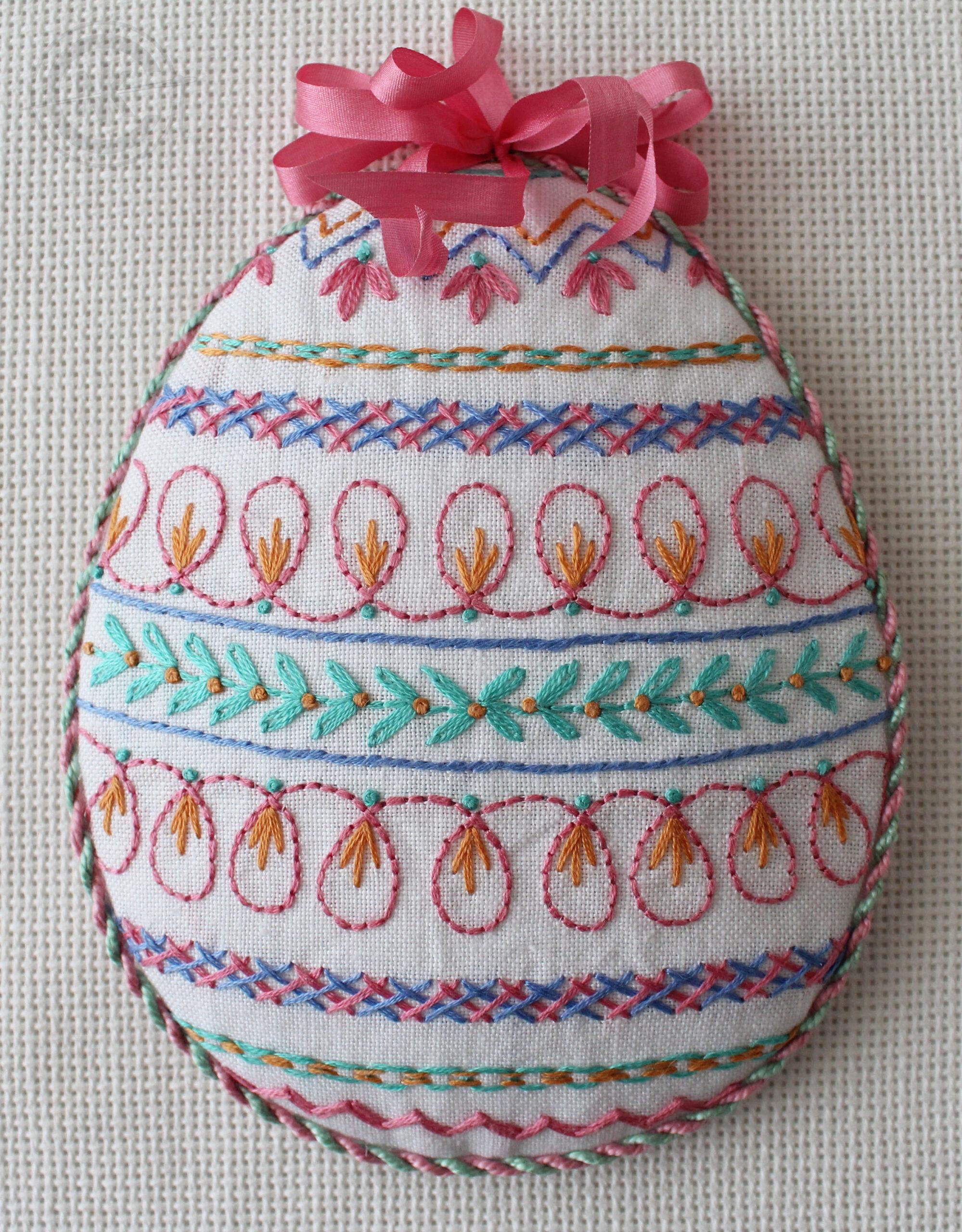 Finishing – Puffed Ornament
