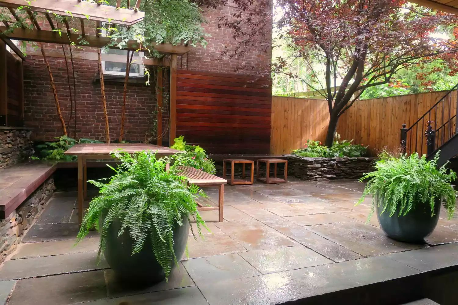 Brooklyn Outdoor Living -   Beautiful Low Maintenance Front Yard Garden and Landscaping Ideas
