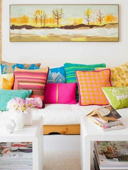 HOW TO MISMATCH PILLOWS