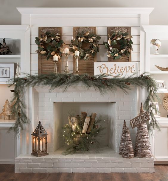 How to decorate living room for christmas